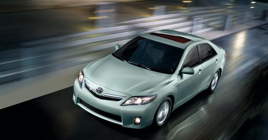 Toyota Camry en marcha