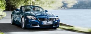 BMW Z4 azul