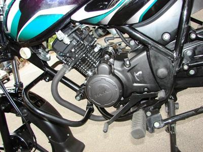 Auteco Bajaj Discover 100 motor 2
