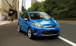 Ford siesta azul