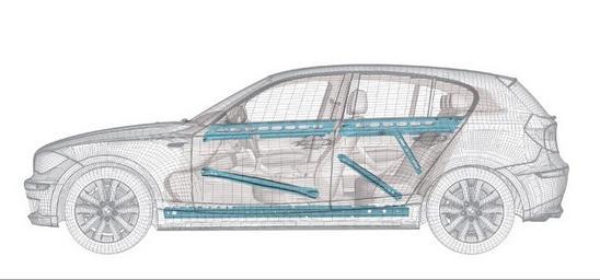 BMW SERIE 1/5 puertas carroceria rigida