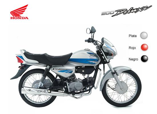 Honda Eco Deluxe colores