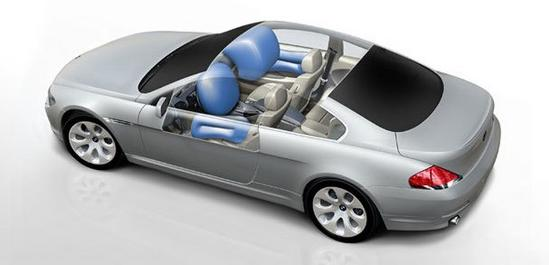 bmw serie 6 coupe airbags