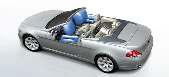BMW Serie 6 Cabrio airbags