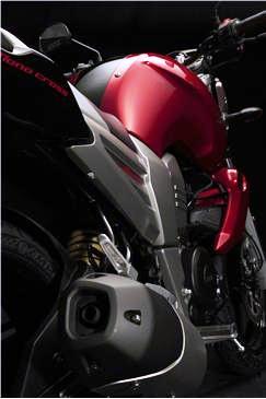 Yamaha FZ 16 perfil