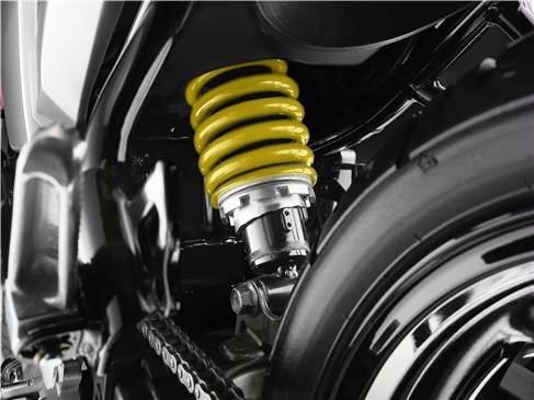 Yamaha FZ 16 amortiguador