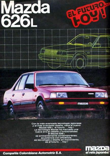 Mazda 626 L Priemra serie