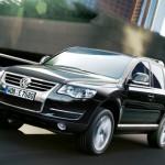 Touareg Volkswagen en marcha