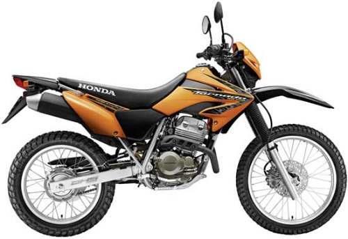 Honda XR dorada