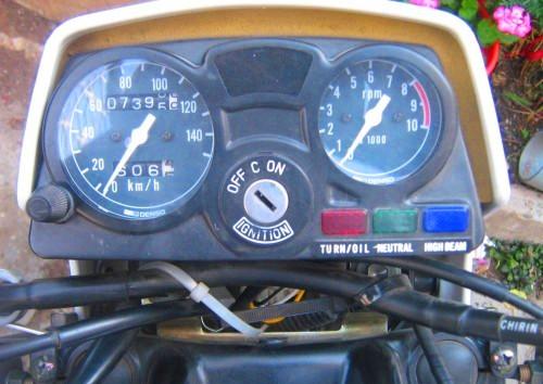 Suzuki TS125 panel