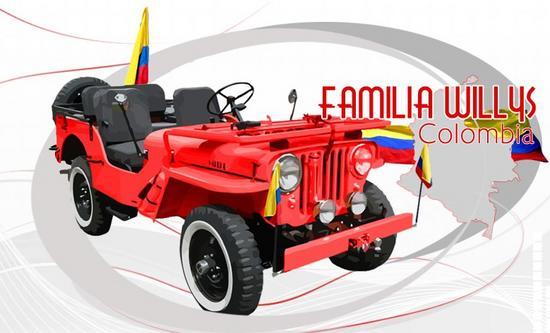 Jeep Willys en Colombio