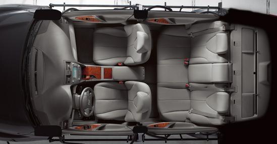 Toyota Camry interior en general