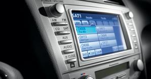 Toyota Camry pantalla