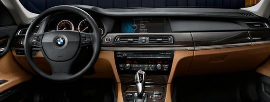 BMW Serie 7 Sedán interior
