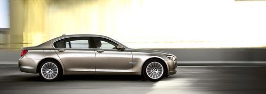 BMW Serie 7 Sedán perfil