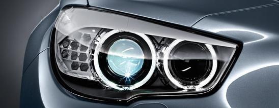 BMW serie 5 Gran Turismo luces