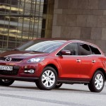 Mazda CX-7 lateral rojo