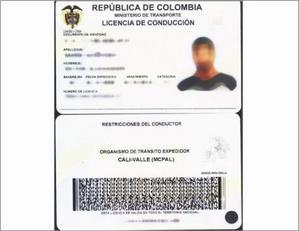 Nueva ficha tecnica para las Licencias de Conduccion