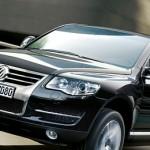 Touareg Volkswagen on road/