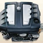Touareg Volkswagen on road V6