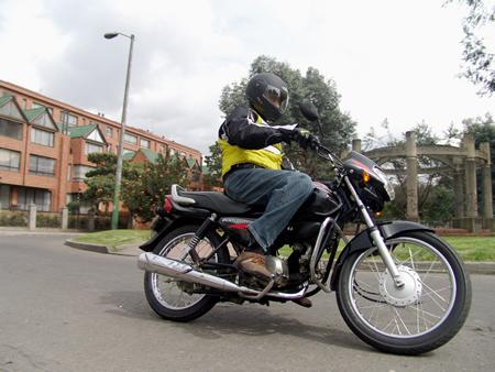 Honda Eco Deluxe en marcha
