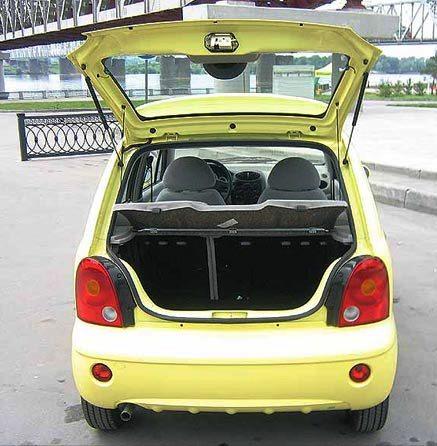 Econotaxi Chery QQ3 Hatchback