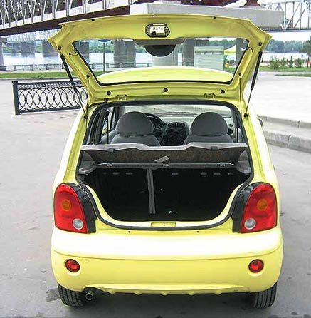 Econotaxi Chery QQ3 Hatchback