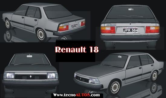 Renault 18 tecnoautos