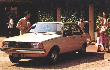 Renault 18 antigua version