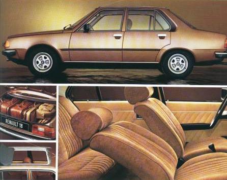 Renault 18 interior