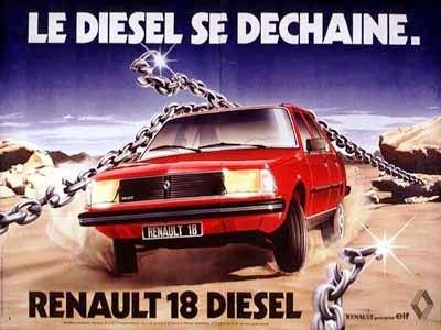 Renault 18 publicidad