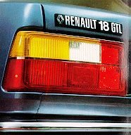 Renault 18 stop
