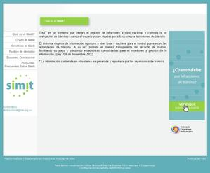 Consulta de Multas SIMIT simit.org.co