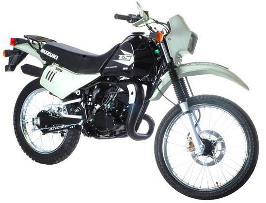 Suzuki TS125 negra