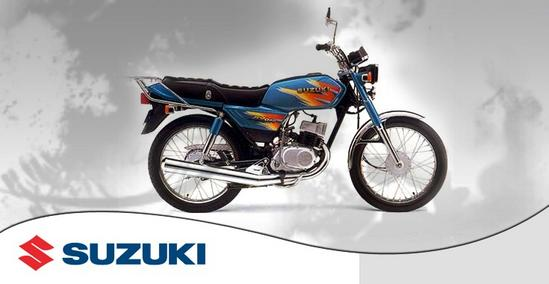 Suzuki AX 100 Personalizada