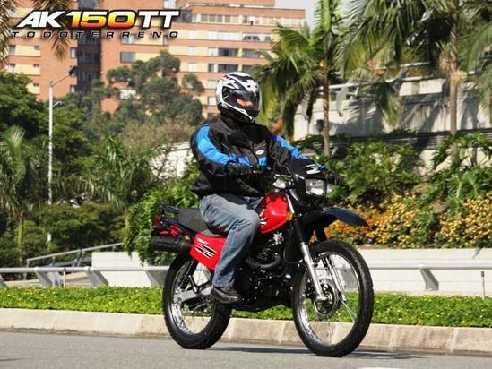 AKT 150 TT Publicidad
