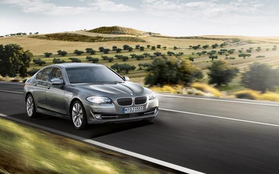 BMW Serie 5 en marcha