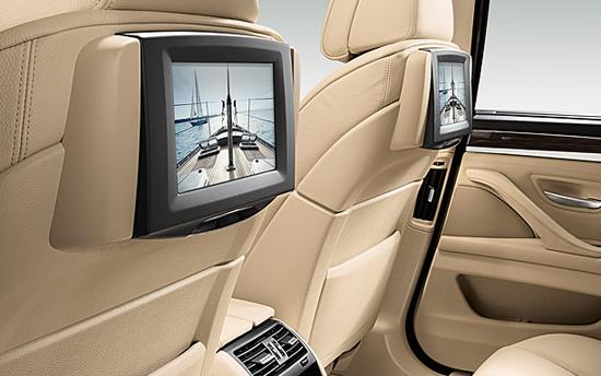 BMW Serie 5 interior trasera