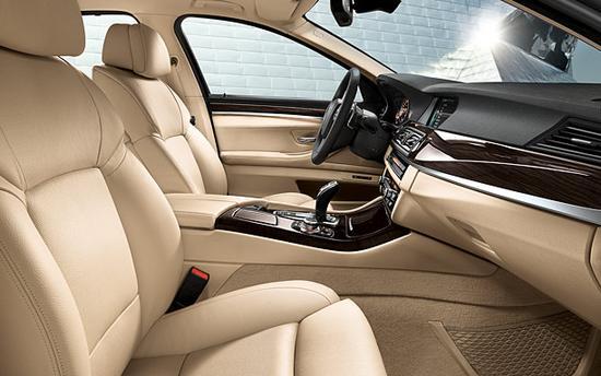 BMW Serie 5 interior delante