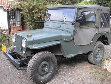 jeep willys perfil