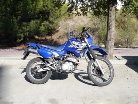 Yamaha XT 660 con un gran estilo