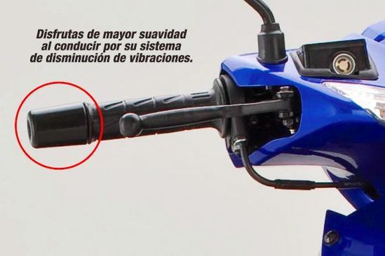 Kawasaki Magic 2 Sistema Antivibraciones