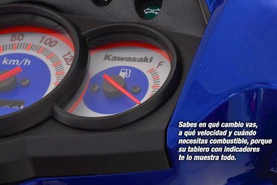 Kawasaki Magic 2 Tablero con indicadores