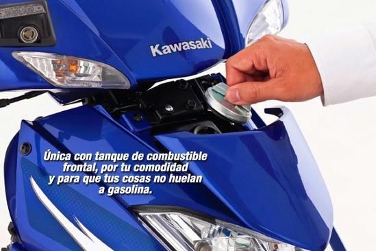 Kawasaki Magic 2 Tanque de combustible frontal
