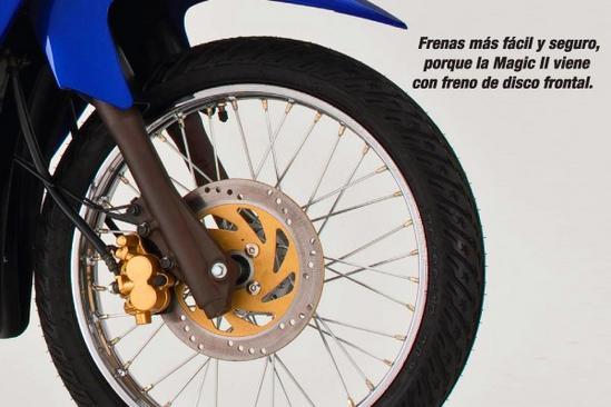 Kawasaki Magic 2 Freno de disco frontal
