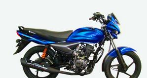 Bajaj Platino 125 Azul