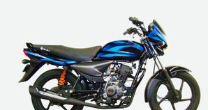 Bajaj Platino 125 Negro Azul