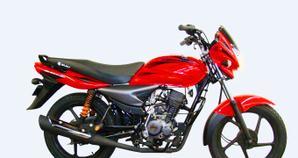 Bajaj Platino 125 Rojo