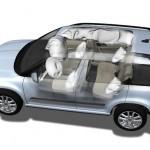Skoda Yeti airbags
