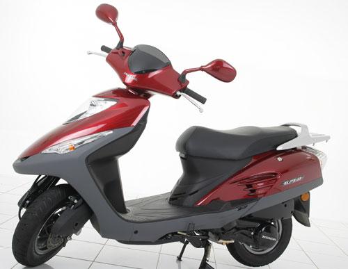 Honda Elite 125 Posee un confiable motor